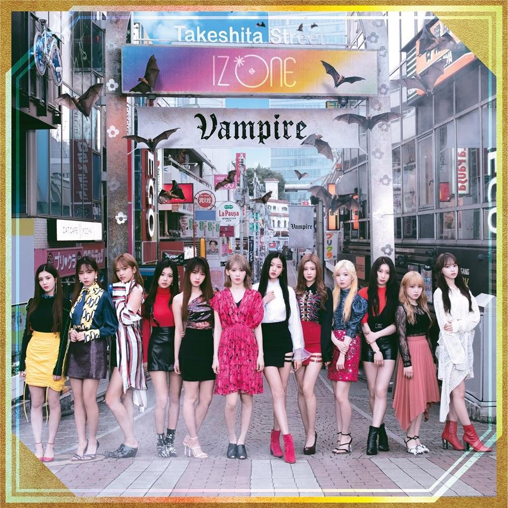 [迷迷音樂] IZ*ONE 日本第3張單曲「Vampire」化身美麗吸血鬼