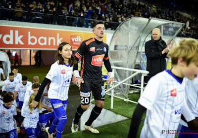 Surprise à Gand : ce gardien de but peut se trouver un nouveau club