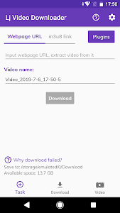 Lj Video Downloader (m3u8, mp4) 1 0 25 + (AdFree) APK for Android