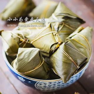 Rice Dumplings Wrapped in Bamboo Leaves (Zongzi)
