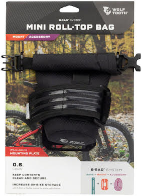 Wolf Tooth B-RAD Mini Roll Top Bag with Adapter alternate image 1
