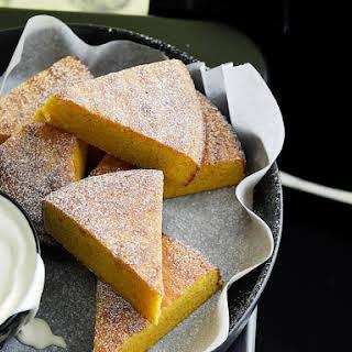 Tangerine Almond Cake.