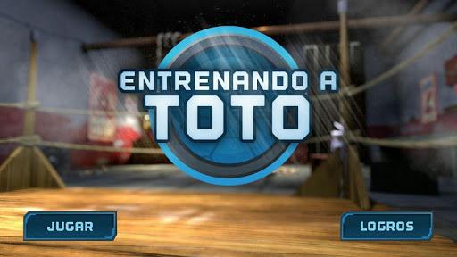Entrenando a Toto