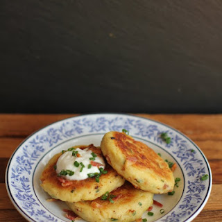 Loaded Potato Pancakes.