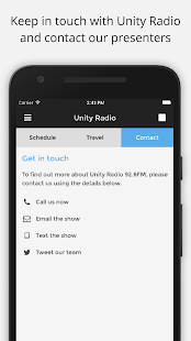 Unity Radio- screenshot thumbnail