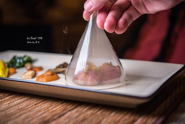 Le Duet 對味198|日法混搭的私廚料理|法式甜點師與日本料理師傅的完美結合|隱身在民宅的精緻美味原來離我這麼近|近捷運六張犁站