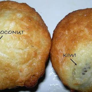 Coconut-Kiwi Muffins.
