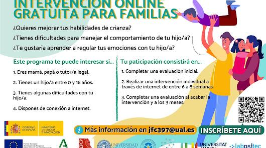 Programa de Intervención GRATUITO para familias a través de la UAL