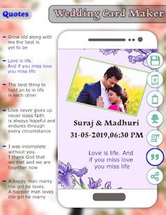 Download Wedding Card Maker : Invitation Card Maker For PC Windows and Mac apk screenshot 5