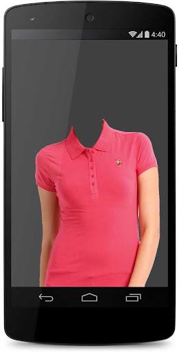 Woman T-shirt Photo Suit