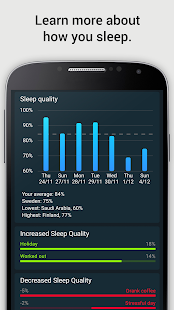 Sleep Cycle alarm clock- screenshot thumbnail