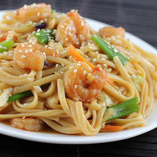 Shrimp Lo Mein.