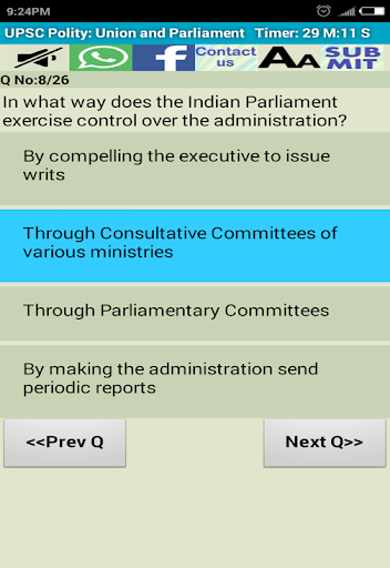 UPSC Prelims IAS Pre Solutions 8.6 screenshots 10