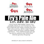 Uncle Bear's Fry's Pale Ale