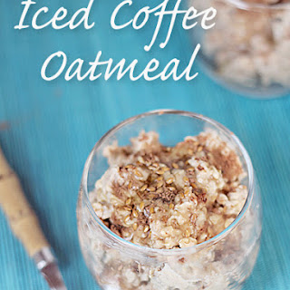 Iced Coffee Refrigerator Oatmeal.