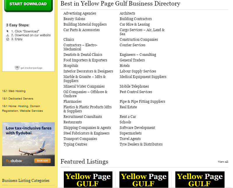 YELLOW PAGES - GULF- screenshot