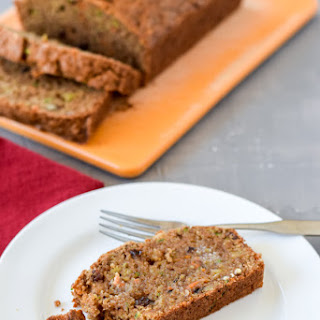 Fabulous Healthy Zucchini Bread