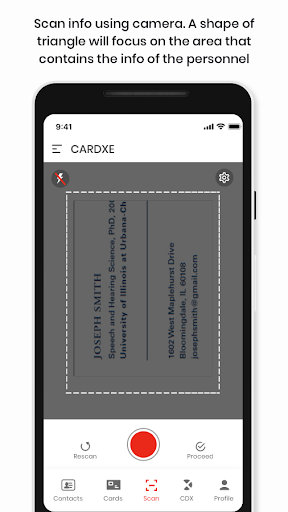 Cardxe screenshot 4