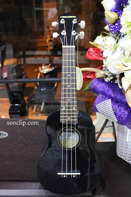 Đàn Ukulele - Playtech Black