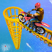 Real Impossible Bike Stunts 2019 : Mega Ramp Games