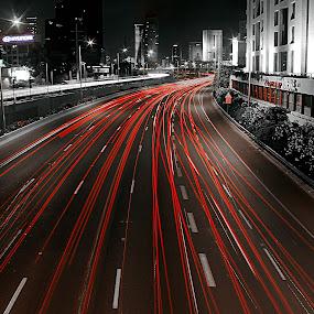 AYALON by Abu  Janjalani Abdullah - City,  Street & Park  Street Scenes ( street&park, street scenes, city )
