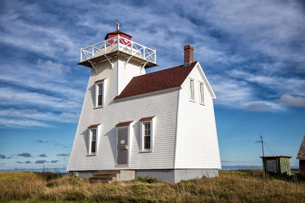 latarnia morska, North Rustico, Wyspa Księcia Edwarda