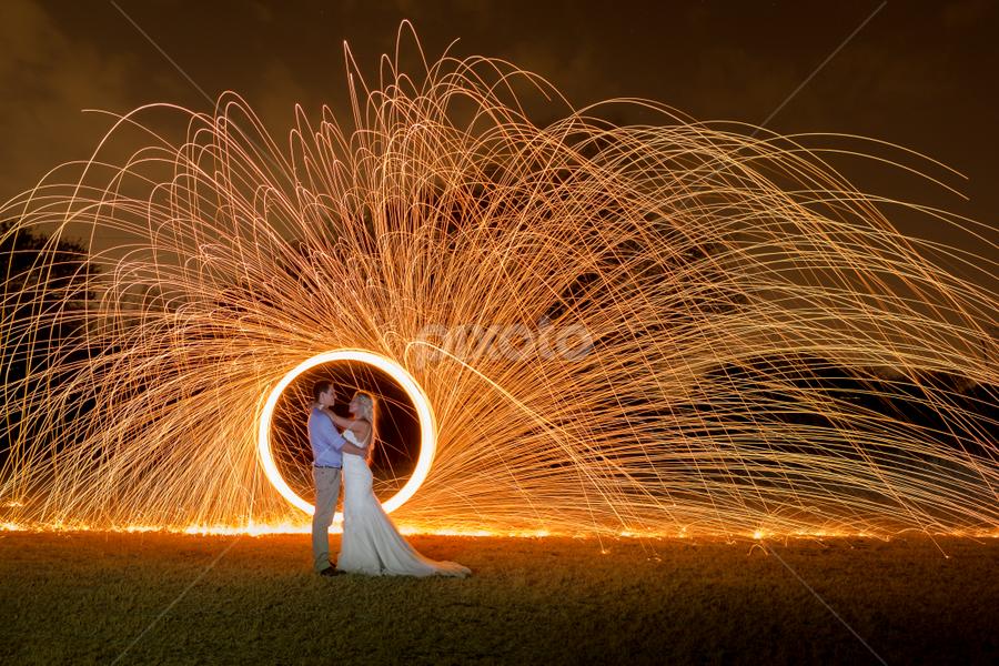 Sparks by Lood Goosen (LWG Photo) - Wedding Bride & Groom ( wedding photography, wedding photographers, wedding day, weddings, wedding, wedding photographer, bride and groom, bride, groom, fire, bride groom )