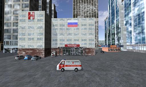 러시아어 구급차 시뮬레이터 3D