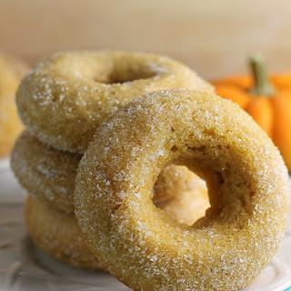 Cinnamon Sugar Pumpkin Donuts {Vegan}