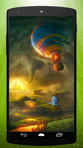Land of Oz Live Wallpaper