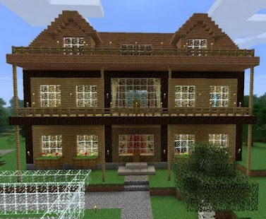 simple modern house design for minecraft screenshot thumbnail - Simple Modern House Minecraft