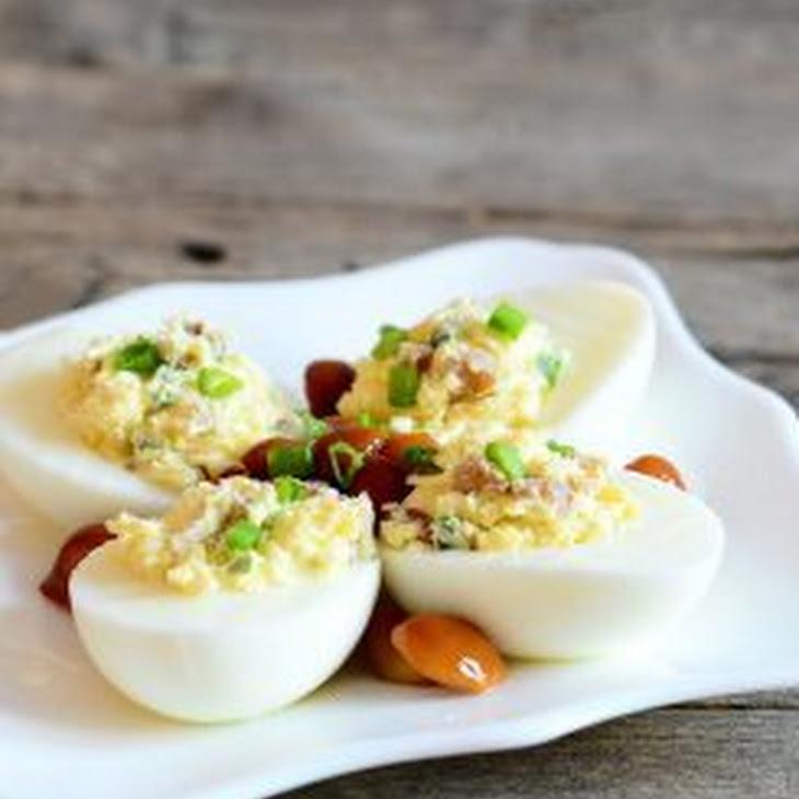 Keto Deviled Eggs Recipe