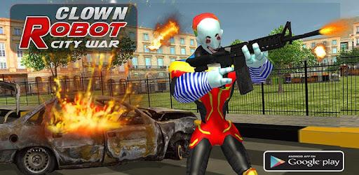 Hero Clown City Robot Battle for PC