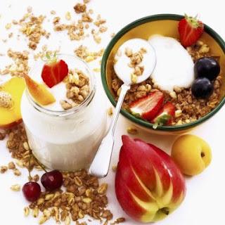 Muesli Breakfast Spread.