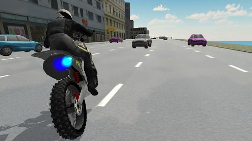Police Motorbike Driving Simulator apktram screenshots 14