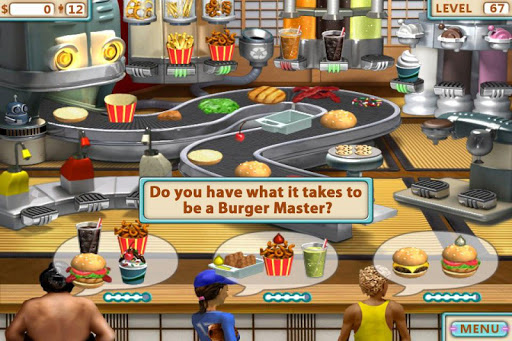 Burger Shop - Free Cooking Game - screenshot