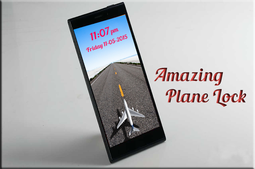 Plane Phone Lock