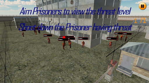 Prison Security : Sniper game (apk) free download for Android/PC/Windows screenshot