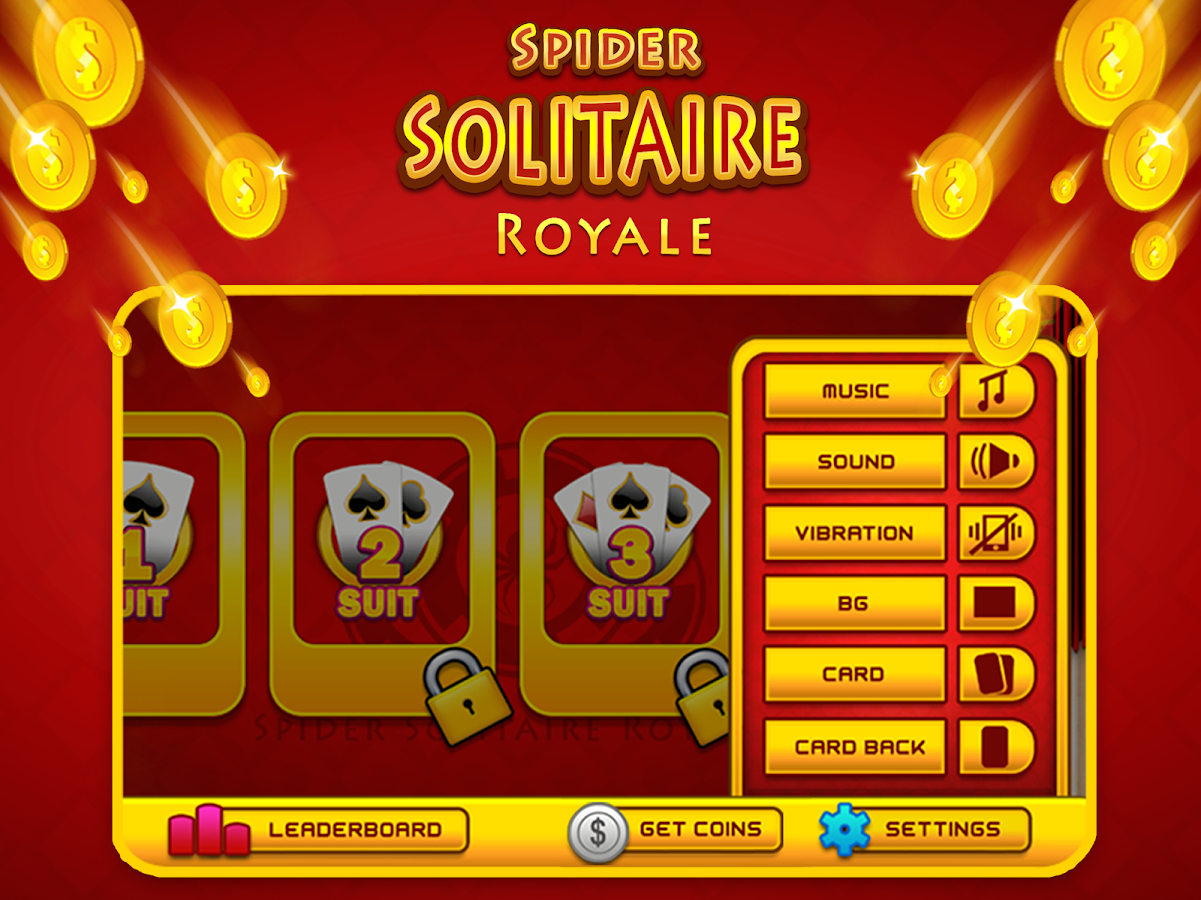 Spider Solitaire Royale- screenshot