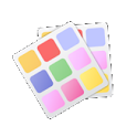 Ipack / Glossy Silver HD icon