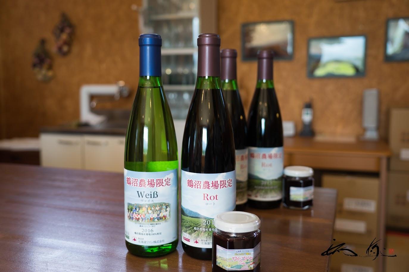この日が発売日となった浦臼農場限定ワイン