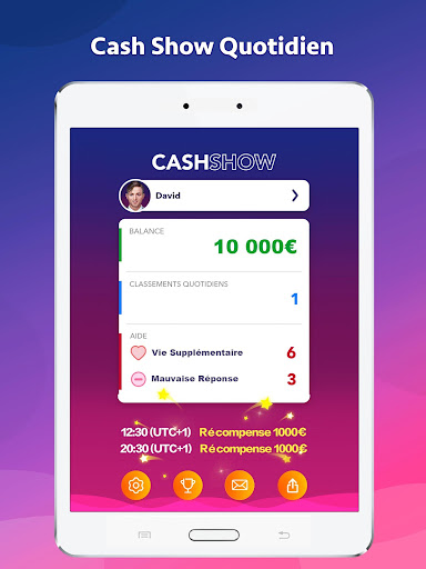 Cash Show - Gagnez du Cash ! for PC