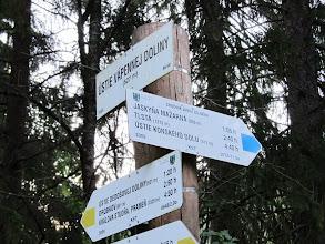 Photo: 03.Ústie Vápennej Doliny (527 m). Tu zmieniam szlak na niebieski.
