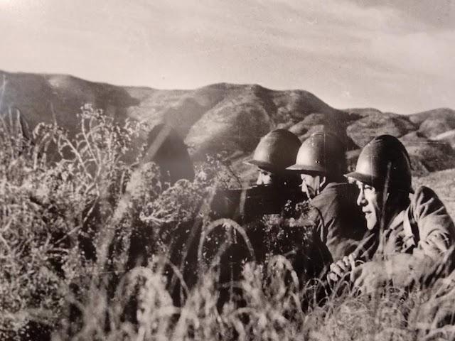 Capa y Taro acompañaron a las Brigadas Internacionales.