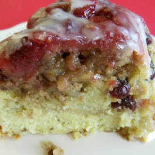 Cranberry Lemon Crumble Cake.