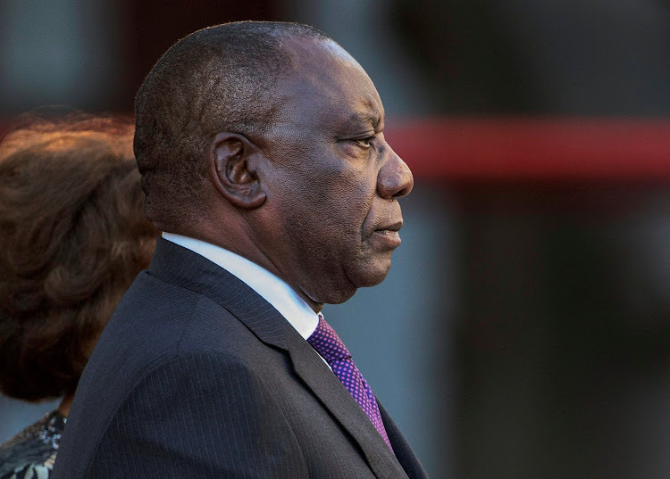 President Cyril Ramaphosa arrives at Parliament to deliver his first state of the nation address on Friday night. Picture: REUTERS