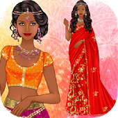 ❊ Indian Sari dress up ❊
