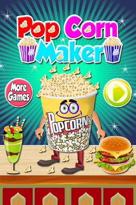 Popcorn Cooking - Maker Games - screenshot