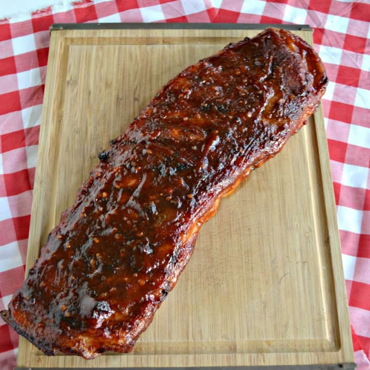 Grilled BBQ Pork Ribs Recipe