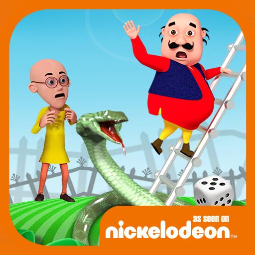 Motu Patlu Snakes & Ladder Game